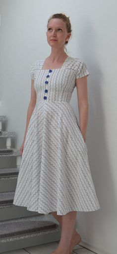 Early 50s Burda Dress