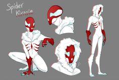 Drawing Marvel Comics Spider Kirasim by - All Spiderman, Spider Art, Spider Webs, Spider Costume, Superhero Design, Marvel Art, Funny Art, Character Drawing, Character Design Inspiration