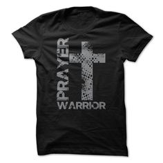 Prayer Warrior Big Cross T-Shirt