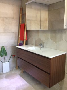Welcome to Natural Tile, Marooochydore! We sell tiles & bathrooms from our outlet in Maroochydore, Sunshine Coast. Modern Vanity, Basins, Walnut Veneer, Vanity Units, Modern Wall, Tiles, The Unit, Flooring, Bathroom