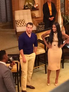 """Henry Cavill attends """"Live with Kelly and Michael"""""""
