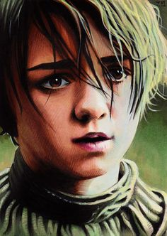 Game of Thrones - Arya Stark by Trev Murphy