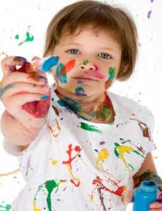 Easy Acrylic Painting for Kids-Painting Lessons for Children with Samples by Ace of Hearts on HubPages Acrylic Painting For Kids, Simple Acrylic Paintings, Acrylic Painting Techniques, Acrylic Art, Learn Art, Learn To Paint, Polka Dot Art, Polka Dots, Artwork Online