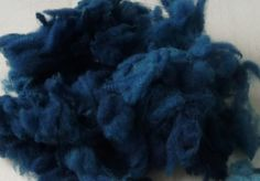 Wool - Tribulations of Hand Spinning and Herbal Dying: Dyed in the Wool - Woad on Various Fibres