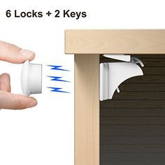 Secret Magnetic Lock Drawer Tips Ideas Diy Pinterest