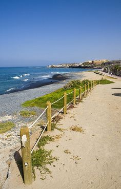 """A Tenerife Beach, a lot of the Island is relaxing,  rugged  beautiful, research were to visit, use our web site for info  """"etenerifeholidays.co.uk"""""""