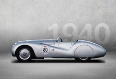 1940 -BMW 328 MILLE MIGLIA - The BMW 328 was one of the most successful sports cars of the 1930s. For the 1940 Mille Miglia, the roadster received a tailor-made, streamlined suit that made its mark in both design and racing history. Photo Credit: BMW