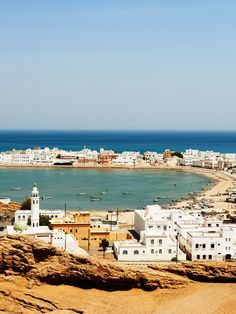 The ship-building city of Sur, on the Gulf of Oman, en route from the desert back to the capitol city of Muscat
