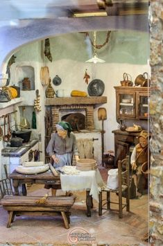 1 million+ Stunning Free Images to Use Anywhere Miniature Kitchen, Miniature Houses, Navity Scene, My Doll House, Hobby House, Create Space, Fairy Dolls, Old Postcards, Eclectic Decor
