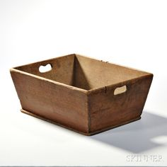 $738 Shaker Brown-stained Storage Box