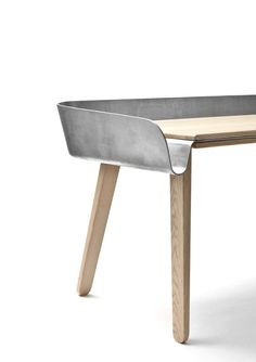 'Homework' Work Table by Tomas Kral