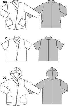 Jacheta pentru incepatori 7700 - Tipare de croitorie