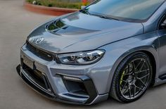 Cars Tuning Music: Volkswagen Scirocco by Aspec