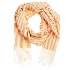 Cotton Scarf Orange