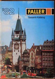 Prospekt Modellbahn FALLER Gesamt-Katalog '82, mit Preisliste in Sammeln & Seltenes, Transport, Eisenbahn | eBay!