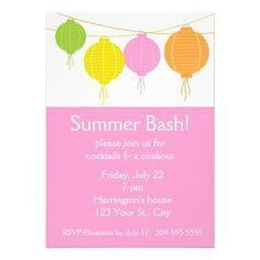 Summer Party Announcement