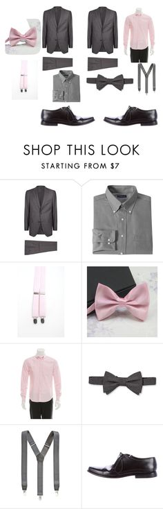 """Chambelanes for XV"" by danielabeauty on Polyvore featuring Pal Zileri, Croft & Barrow, Band of Outsiders, City of London, Club Room and Prada"