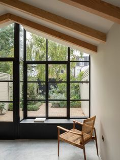 Will Gamble Architects has completed Burnt House, a London house extension modelled on a Japanese tea house, in a renovation with Smith & Butler. House Extension Design, Extension Designs, House Design, Interior Modern, West London, Large Open Plan Kitchens, Japanese Tea House, Charred Wood, Cabin In The Woods