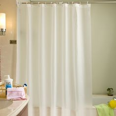 Waterproof Curtains Solid Color For Bathroom Curtains Shower Curtains Home Decor #Affiliate