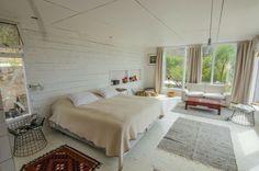 Dormitorio masterbedroom casa campo blanco madera