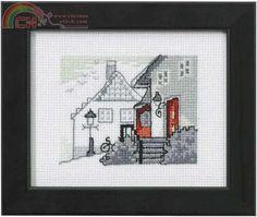 Permin of Copenhagen 14-0140-Cross stitch Communication / Download-Cross stitch Patterns Scanned-PinDIY -