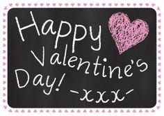 ♥Kaartje2go - Valentijnskaarten - Happy Valentine
