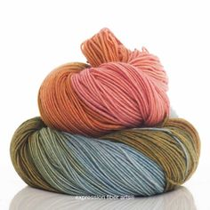 SECRET GARDEN Resilient superwash merino wool sock yarn by Expression Fiber Arts