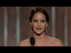 Will Ferrel and Kristin Wigg Intro - hilarious.   Jennifer Lawrence wins Best Actress (Comedy or Musical) - Golden Globes