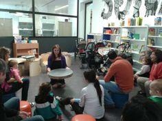 27-02-2014 Especial Hora del Cuento para bebés con Ana Griott.