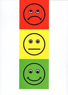 Traffic Light Poster - Teacher Resource - Feelings/Emotions Early Years Resource - Write-on/Wipe-Off - x Fine Motor Activities For Kids, Preschool Learning Activities, Computer Lab Lessons, Red Light Green Light, Calm Down Corner, How Many Kids, Traffic Light, Feelings And Emotions, School Projects