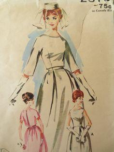 Vintage Butterick 2570 Sewing Pattern 1960s by sewbettyanddot, $13.50