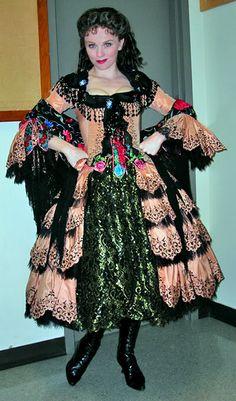 Jennifer Hope Wills Broadway Costumes, Theatre Costumes, Cool Costumes, Amazing Costumes, Musical Theatre, Costume Ideas, Phantom Of The Opera, Gypsy Wedding
