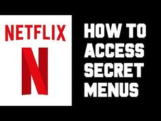 How To Access Netflix Secret Menu Step by Step Instructions, Guide, Tutorial, Codes Tv Hacks, Netflix Hacks, Tv Without Cable, Netflix Website, Netflix Categories, Kindle Fire Tablet, Netflix Movies To Watch, Netflix Codes