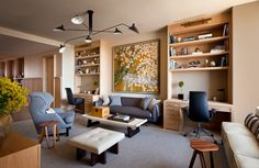 Living Room in New York, NY by Shawn Henderson Interior Design
