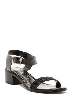 Embellished Ankle Strap Sandal by Italian Shoemakers on @nordstrom_rack