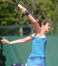 Margarita Gasparyan one-handed backhand (via _Tatinka_)