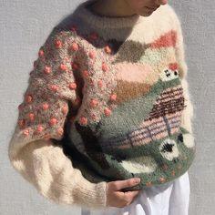 Hand Knitting, Knitting Patterns, Punk Chic, Sheep Farm, Quirky Fashion, Fashion Project, Basic Outfits, Urban Chic, Fashion Books