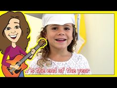 Five simple songs sung to familiar tunes that are great for preschool graduation programs. Graduation Songs For Kids, Kindergarten Graduation Poems, Graduation Crafts, Pre K Graduation, Kindergarten Songs, Preschool Songs, Kids Songs, Thank You Song, School Fun