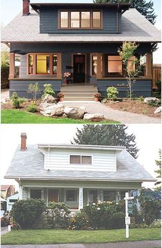 Earlier than and After | 1909 craftsman bungalow | Portland, OR | Arciform LLC.... *** Find out even more by clicking the photo link
