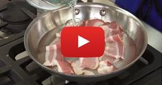 We found a video that will help you make the most perfect bacon ever!! I'm going to try this out tomorrow morning.