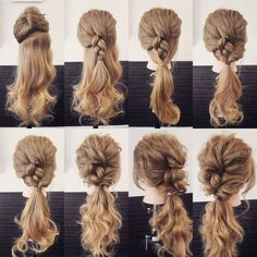 Half-Up Braid + Topsy-Tail