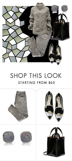 """""""мода"""" by olgahouse ❤ liked on Polyvore featuring GUESS, sass & bide, Alona, Stephen Dweck and Alaïa"""