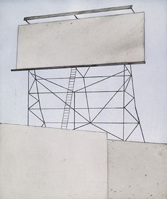 your space on building, 2006 • ed ruscha • etching/engraving, aquatint with sugar lift flat bite and hard ground, edition of 30 • crown point press