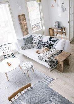 Rustic Modern Farmhouse Living Room Decor Ideas