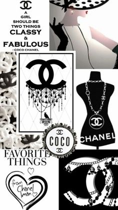 CoCo CHANEL Collage