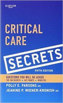 FREE MEDICAL BOOKS: critical care secrets 5th ed