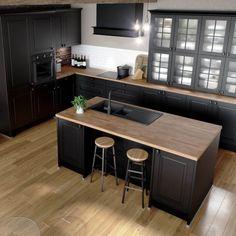 Kitchen Room Design, Kitchen Colors, Kitchen Decor, Farmhouse Renovation, Minimalist Kitchen, Dream Rooms, Kitchen Furniture, Home Remodeling, Kitchen Remodel