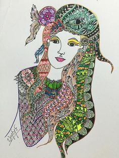 Doodle#DreamCatcher#Girl