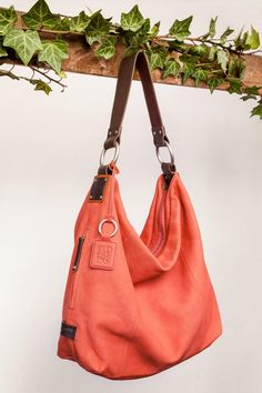 Sadie Hobo in coral by Ellington Other Accessories, Handbag Accessories, Ellington Handbags, Urban Chic, Hobo Handbags, Sadie, Comfortable Shoes, Coral, Stylish