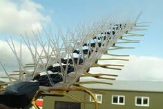 Keeps Pigeons and Pest Birds Off Your TV Aerial available in small or large, easy to install, highly effective deterrent. Tv Aerials, Wind Turbine, Kit, Spikes, Building, Garden, Travel, Image, Shopping